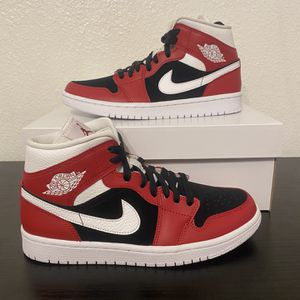 Jordan 1 Mid Gym Red. Women's 7.5 And 8 for Sale in San Antonio, TX