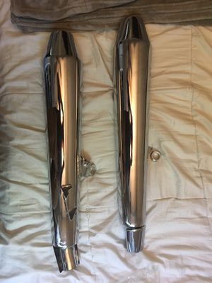 Triumph motorcycle mufflers for Sale in Fountain Valley, CA