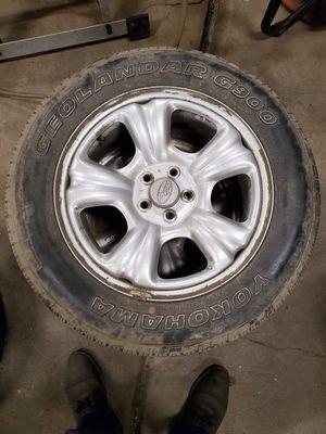 16 Inch Silver Steel Subaru Rims Steelies Wheels for Sale in Kresgeville, PA