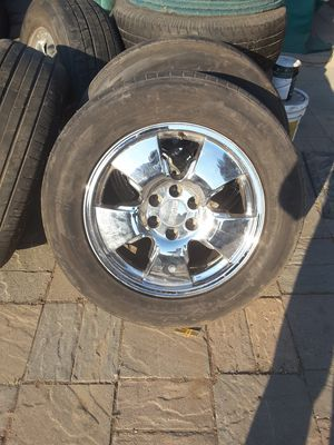 "GMC 20"" tires and rims. for Sale in Salinas, CA"