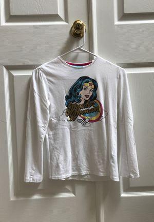 Wonder woman shirt white for Sale in Cumming, GA