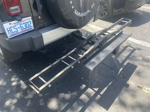 Motorcycle carrier for Sale in St. Petersburg, FL