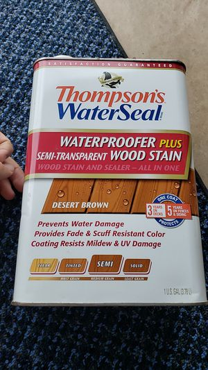 Thompson wood stain for Sale in West York, PA