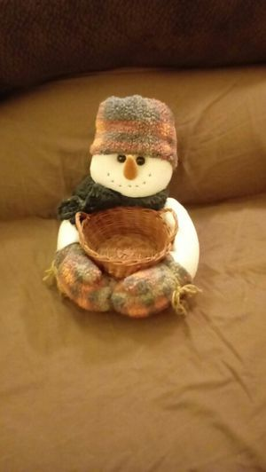 Snowman Holding a Basket for Sale in OH, US