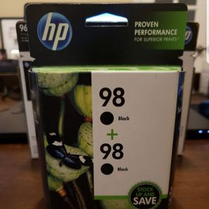 OEM HP 98 Black Retail Twin Pack (Printers- Inkjet/Dot Matrix) for Sale in Austin, TX