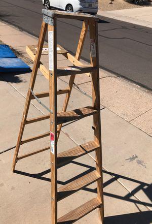 6ft ladder for Sale in Phoenix, AZ