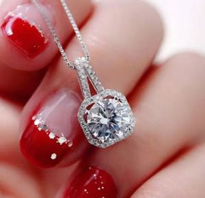 $10 brand new silver plated adjustable CZ necklace for Sale in Manchester, MO