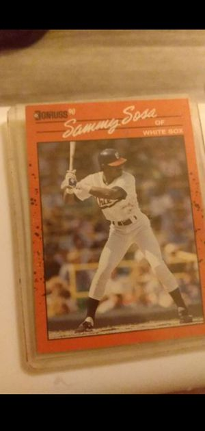 SAMMY SOSA baseball card for Sale in Portland, OR