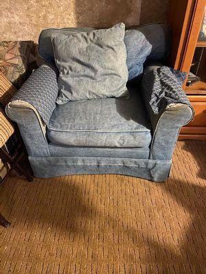 Denim chair for Sale in Cashmere, WA