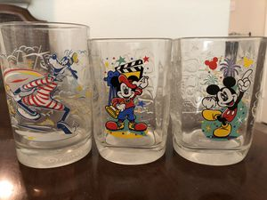 McDonalds Walt Disney Anniversary Glasses for Sale in Austin, TX