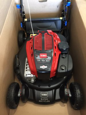 New In Box 2020 Toro Super Recycler Electric Start Alloy Deck for Sale in Camas, WA