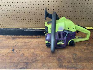"""Poulan wild gasoline chainsaw 16"""" for Sale in La Porte, TX"""