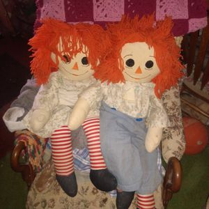 Raggedy And Andy Circa 1950 Handmade for Sale in Las Vegas, NV