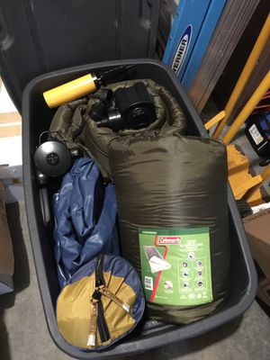 Camping Gear- for two. for Sale in Bothell, WA