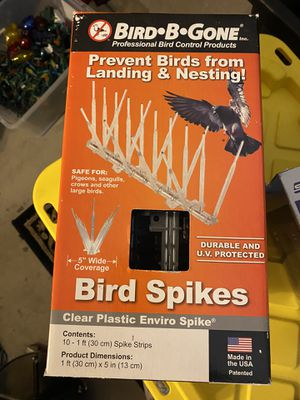 Bird Spikes- new in box for Sale in Roseville, CA