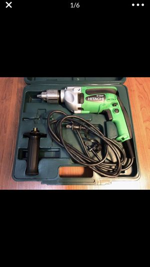 [Like New] Hitachi - D13Vf Rotary Drill 13Mm 110 Volt for Sale in Farmington Hills, MI