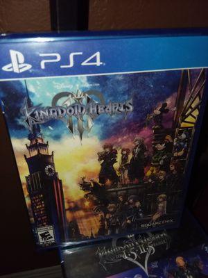 Kingdom hearts 3 for Sale in Fontana, CA