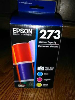 Epson Colored Ink #273 ~ 4 Ink Cartridges ~ Sealed, New! - $35 for Sale in Toledo, OH