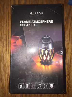 Flame atmosphere Bluetooth speaker for Sale in Columbia, PA