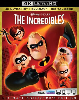 The Incredibles 4K UHD Digital Movie Code for Sale in Fort Worth, TX