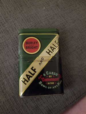 Vintage Empty Pocket Tobacco Tin for Sale in Silver Spring, MD