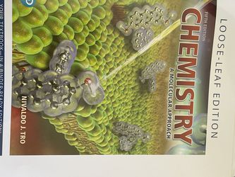 Chemistry A Molecular Approach By Nivaldo J. Tro for Sale in Los Angeles,  CA