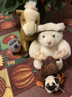 5 stuffed animals for Sale in Des Moines,  WA