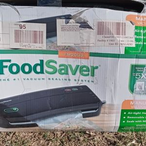 FoodSaver Manuel Operation Vacuum System Stealing for Sale in Los Angeles, CA