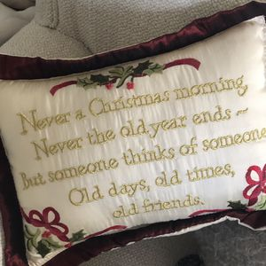 Christmas pillow for Sale in Annville, PA