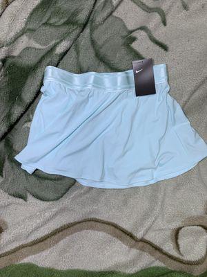 NWT Nike Dry Court Flouncy Tennis Skort Skirt Light Blue for Sale in Garden Grove, CA