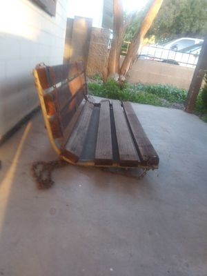 Old but sturdy Wooden Porch Swing $20 OBO for Sale in Phoenix, AZ