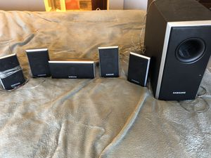 Samsung surround sound speakers for Sale in Arvada, CO