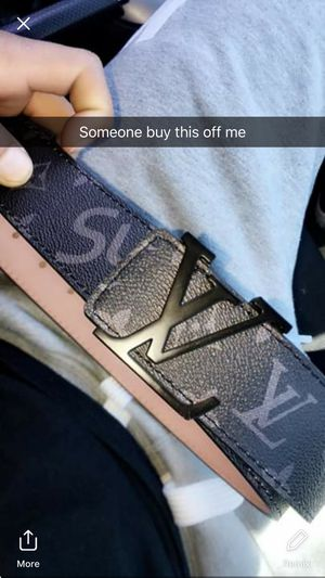 Louis Vuitton x Supreme Belt for Sale in Niagara Falls, NY