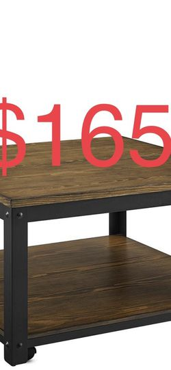 Steve Silver Logan 34 in. Burnished Mocha Medium Square Wood Coffee Table with Lift Top for Sale in South El Monte,  CA