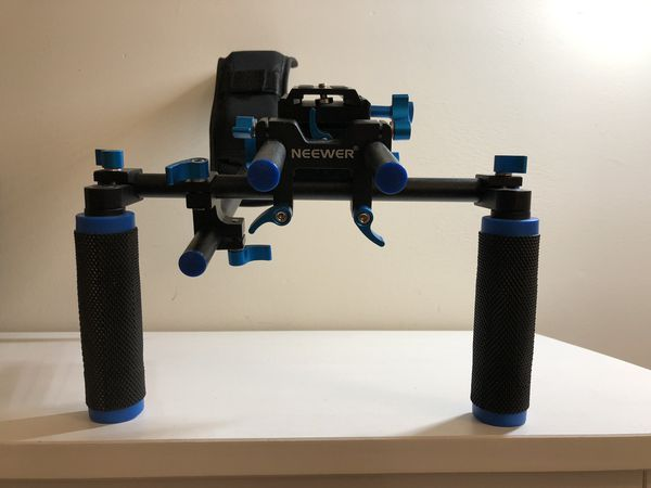 Brewer shoulder camera rig