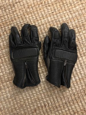 Black Leather Motorcycle Gloves from Joe Rocket (Accident Free) for Sale in Los Angeles, CA