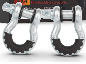 "FieryRed 3/4"" D (2 Pack) Shackle for Sale in Las Vegas, NV"