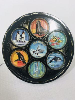 Vintage 1980's Sea World Souvernir Metal Tin Tray for Sale in Pawtucket, RI