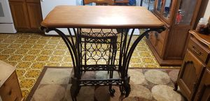 High table with wine rack for Sale in Mandan, ND