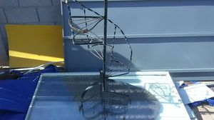 Metal flower pot spiral staircase stand for Sale in Peoria, AZ