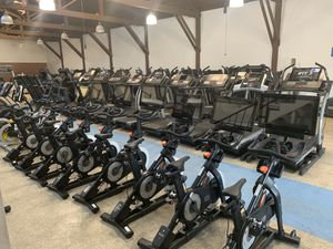 Interactive Spin Bikes (NordicTrack, Peloton, Proform) workout with trainers or ride on 100s of trails around the world! interactive bike as low as $ for Sale in La Puente, CA