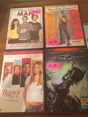 DVDs for sale! $2 each for Sale in Knoxville, TN