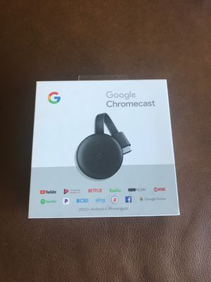 Google chromecast for Sale in West Palm Beach, FL
