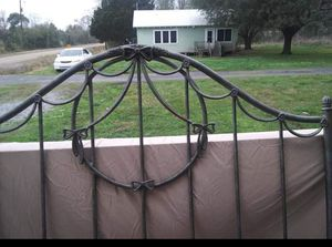 Full size cast iron bed frame for Sale in New Iberia, LA