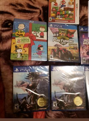 VIDEO GAME BUNDLE! FACTORY SEALED for Sale in Jersey City, NJ