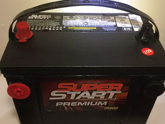 Car Battery Chevy GMC Cadillac Buick Pontiac Size 78 Only 6 Months Old Ready To Install. for Sale in Carson,  CA