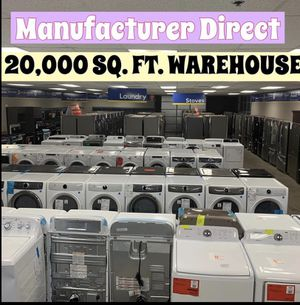 🚨🚨New on SALE Refrigerator Stove Washer Dryer Dishwasher Microwave & More 🚨1yr Manufacturers Warranty for Sale in Gilbert, AZ