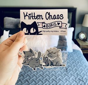 Cat sticker pack ( Boris) for Sale in Huntington Beach, CA