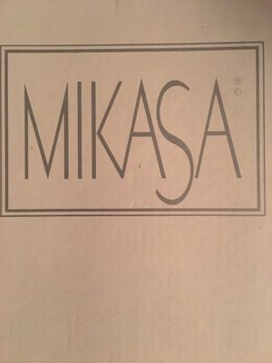 New Mikasa gold rimmed candle holders in box for Sale in Groveland, IL