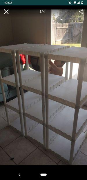3 White shelves for Sale in Riverside, CA